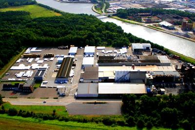 Завод IKO в Бельгии